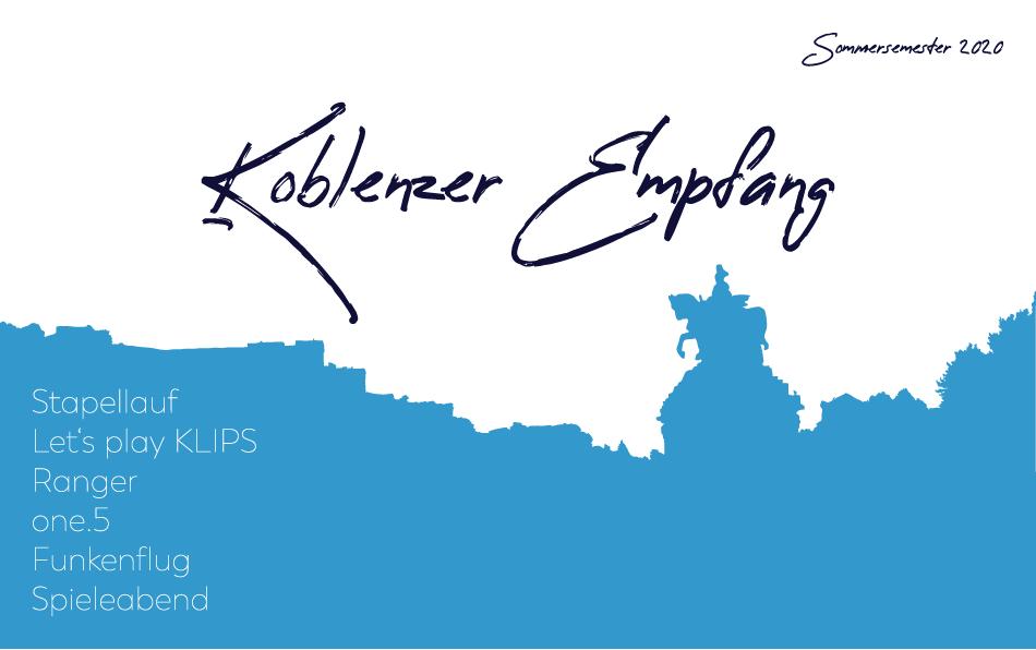 Koblenzer Empfang SoSe 20